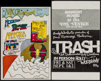 Hookfoot, Ted Nugent and the Amboy Dukes, and Armadilla & Other Lot (Aragon Music Company, 1973). Concert Window...