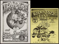 """Movie Posters:Rock and Roll, Trapeze and Too Smooth at the Armadillo World Headquarters &Other Lot (Armadillo, 1974). Concert Posters (11"""" X 14"""" &11.75... (Total: 2 Items)"""