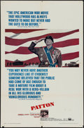 "Movie Posters:War, Patton (20th Century Fox, 1970). One Sheet (27"" X 41""), Program (3Pages, 10.5"" X 14""), Pressbook (18 Pages, 9"" X 14""), Hera...(Total: 5 Items)"