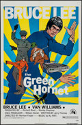 "Movie Posters:Action, The Green Hornet (20th Century Fox, 1974). One Sheet (27"" X 41"")White Title Style. Action.. ..."