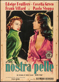 """Movie Posters:Foreign, The Cape of Hope (ENIC, 1951). Italian 2 - Fogli (39"""" X 55""""). Foreign.. ..."""