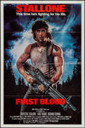 "Movie Posters:Action, First Blood & Others Lot (Orion, 1982). One Sheets (2) (27"" X41""), British One Sheet (27"" X 40""), & Spanish One Sheet (26""... (Total: 4 Items)"