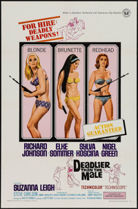 "Deadlier Than the Male & Others Lot (Universal, 1967). One Sheets (3) (27"" X 41""). Bad Girl. ... (Total: 3..."