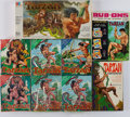Miscellaneous:Gaming Collectibles, [Tarzan]. Group of Nine Puzzles and Games. [Long Beach andelsewhere: Circa 1966-1984].... (Total: 9 Items)