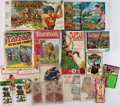 Books:Furniture & Accessories, [Tarzan]. Group of twelve Toys and Board Games. New York andelsewhere: 1966-1984.... (Total: 12 )