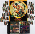 Miscellaneous:Trading Cards, [Edgar Rice Burroughs]. Large Collection of Joe Jusko's Edgar Rice Burroughs Collection Trading Cards [and:] Promotional P...