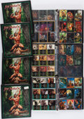 Miscellaneous:Trading Cards, [Edgar Rice Burroughs.] Joe Jusko Trading Card Sets in Seven Binders. 1994.... (Total: 7 Items)