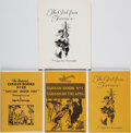 Books:Science Fiction & Fantasy, [Tarzan]. Edgar Rice Burroughs. Group of Three House of Greystoke Books [together with:] The Burroughs Bulletin, No.... (Total: 4 )