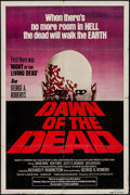 """Movie Posters:Horror, Dawn of the Dead (United Film Distribution, 1978). One Sheet (27"""" X 41"""") Red Title Style & Mini Poster (15"""" X 22""""). Horror.... (Total: 2 Items)"""