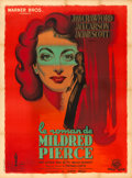 "Movie Posters:Film Noir, Mildred Pierce (Warner Brothers, 1947). First Post-War ReleaseFrench Grande (47"" X 63"") Roger Jacquier dit Rojac Artwork.. ..."