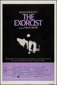 "The Exorcist (Warner Brothers, 1974). Autographed One Sheet (27"" X 41""). Horror"