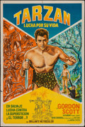 "Movie Posters:Adventure, Tarzan's Fight for Life & Others Lot (MGM, 1959). ArgentineanPoster (29"" X 43""), & One Sheets (3) (26.5"" X 39.5"" & 27"" X41... (Total: 4 Items)"