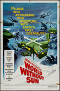 "Movie Posters:Documentary, World without Sun & Others Lot (Columbia, 1964). One Sheet (27"" X 41"") & British One Sheets (2) (27"" X 40""). Documentary.. ... (Total: 3 Items)"