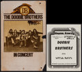 "Movie Posters:Rock and Roll, The Doobie Brothers in Concert & Others Lot (Warner BrothersRecords, 1970s). Stock Concert Window Card (14"" X 22"") &Concer... (Total: 3 Items)"