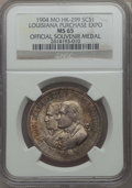 So-Called Dollars, 1904 Louisiana Purchase Exposition Medal, HK-299, MS65 NGC. St. Louis, Missouri. Silver....