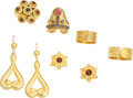 Estate Jewelry:Lots, Ruby, Sapphire, Gold Jewelry, Lalaounis. ... (Total: 6 Items)