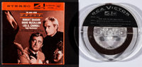 "The Man from U.N.C.L.E. Lot (MGM, 1965). 4 Track Reel to Reel (7.25"" X 7.25""), Toy Gun with Holster (5"" X..."