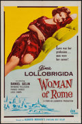 "Movie Posters:Foreign, Woman of Rome (Distributors Corporation of America Inc., 1956). One Sheet (27"" X 41""). Foreign.. ..."