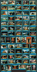 "Movie Posters:James Bond, Moonraker (United Artists, 1979). Trading Card Set of 99, TradingCards (262) & Sticker Cards (39) (2.5"" X 3.5"") in Original...(Total: 401 Items)"