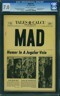 MAD #16 (EC, 1954) CGC FN/VF 7.0 Off-white to white pages