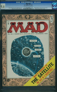 MAD #26 (EC, 1955) CGC NM+ 9.6 Off-white to white pages