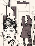 Original Comic Art:Covers, Jaime Hernandez Love and Rockets #8 Cover Original Art(Fantagraphics, 1984)....