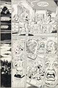 Original Comic Art:Panel Pages, George Perez, Joe Rubinstein, and Tom Christopher InfinityGauntlet #1 Story Pages 39-40 Original Art (Marvel, 199...(Total: 2 Items)