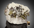 Minerals:Cabinet Specimens, Muscovite, a Mica mineral, is composed of aluminum and potassium.It is easy to see that this mineral consists of aluminum given...