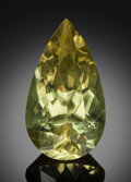 Gems:Faceted, Fine Gemstone: Apatite - 25.61 Ct.. Gamsberg Area, KhomasRegion, Namibia. ...