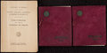 Miscellaneous Collectibles:General, Early 1900's University of Michigan Commencement Booklets Lot of 3....
