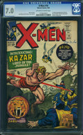 Silver Age (1956-1969):Superhero, X-Men #10 (Marvel, 1965) CGC FN/VF 7.0 Off-white to white pages.