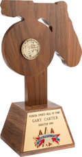 Baseball Collectibles:Others, 1998 Gary Carter Florida Sports Hall of Fame Award from The GaryCarter Collection. ...