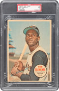 Baseball Cards:Singles (1960-1969), 1968 O-Pee-Chee Pin-Ups Roberto Clemente #4 PSA NM 7 - Pop One, None Higher. ...