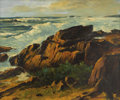 Fine Art - Painting, American:Modern  (1900 1949)  , ALFRED MITCHELL (American 1888-1972). California Coast. Oilon canvas. 30 x 36 inches (76.2 x 91.4 cm). Signed lower rig...