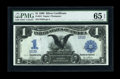 Large Size:Silver Certificates, Fr. 231 $1 1899 Silver Certificate Low Serial Number PMG Gem Uncirculated 65 EPQ....