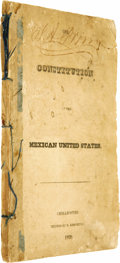 Books:Non-fiction, The Constitution of the Mexican United States and TheConstitution of Cuahuila [sic] and Texas,...