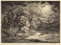 Texas:Early Texas Art - Drawings & Prints, LLOYD GOFF (1908-1982). Gathering Storm, 1936. Lithograph onpaper. 10 x 14 inches (25.4 x 35.6 cm). Signed lower right...