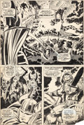 Original Comic Art:Panel Pages, Jack Kirby and Vince Colletta Thor #154 Story Page 4 Original Art (Marvel, 1968)....
