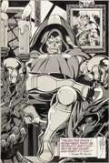 Original Comic Art:Splash Pages, John Byrne Contemporary Pictorial Literature (CPL) #13Unpublished Doctor Doom Illustration Original Art (CPL/Gang...
