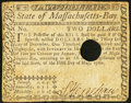 Colonial Notes:Massachusetts, Massachusetts May 5, 1780 $2 Fine, HOC.. ...