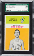 Basketball Cards:Singles (Pre-1970), 1961 Fleer Bob Cousy #10 SGC 96 Mint 9 - Pop Five, None Higher. ...