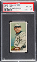 Baseball Cards:Singles (Pre-1930), 1909-11 T206 Piedmont Cy Young (Glove Shows) PSA EX-MT 6. ...