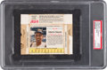 Baseball Cards:Singles (1960-1969), 1963 Jell-O (Complete Box) Roberto Clemente #143 PSA Good 2. ...