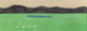 Milton Avery (American, 1885-1965) Green Meadow, 1957 oil on canvas 16 x 44 inches (40.6 x 111.8 cm) Signed lower ri