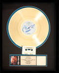 Music Memorabilia:Awards, Billy Idol Vital Idol RIAA Hologram Gold Record Sales Award(Chrysalis OV 41620, 1987). ...