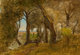 George Inness (American, 1825-1894) Olives, Albano, Italy Oil on canvas 18-1/4 x 26 inches (46.4 x 66.0 cm) Signed l