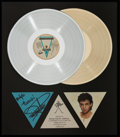 Music Memorabilia:Awards, Rick Springfield Signed Living in Oz In-House Platinum andGold Record Sales Award (RCA AFLI-4660, 1983). ...
