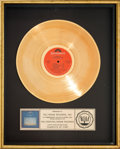 Music Memorabilia:Awards, Vangelis Chariots of Fire RIAA Gold Record Sales Award(Polydor PD-1-6335, 1981). ...