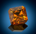 "Amber, Gemstone: ""Amber"" - 5.85 Ct.. Holocene. Baltic Coast. Gdansk, Poland. 14.8 x 14.8 x 11.6 mm. ..."