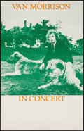 "Movie Posters:Rock and Roll, Van Morrison in Concert (Warner Brothers Records, 1974). StockConcert Window Card (14"" X 22""). Rock and Roll.. ..."